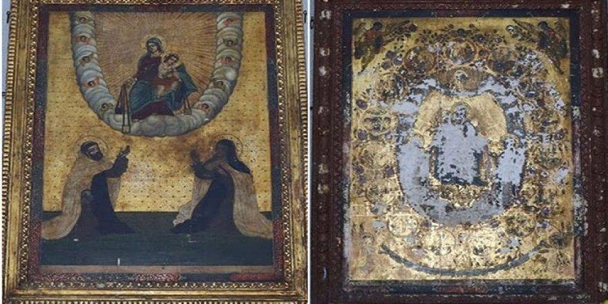Roma dönemine ait altın işlemeli tablo olayında 3 tutuklama