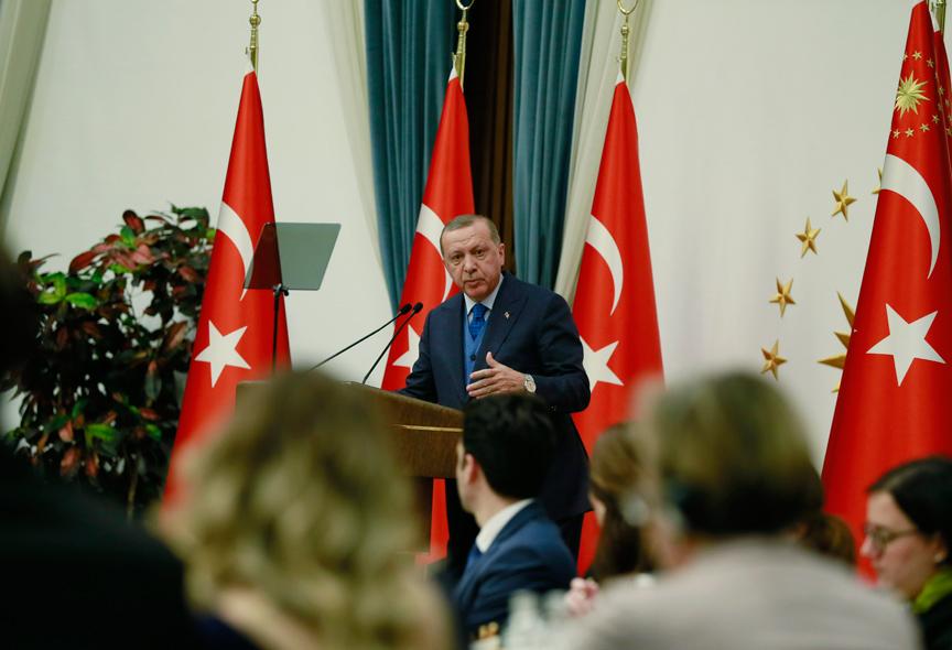 Erdoğan: ABD'nin görevini devralmaya hazırız