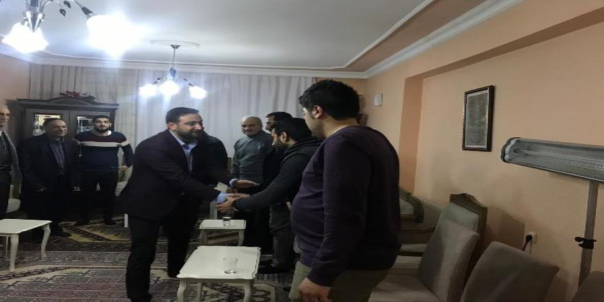 VİDEO- Nasıranlı'dan Çat Kapı Ev Ziyareti
