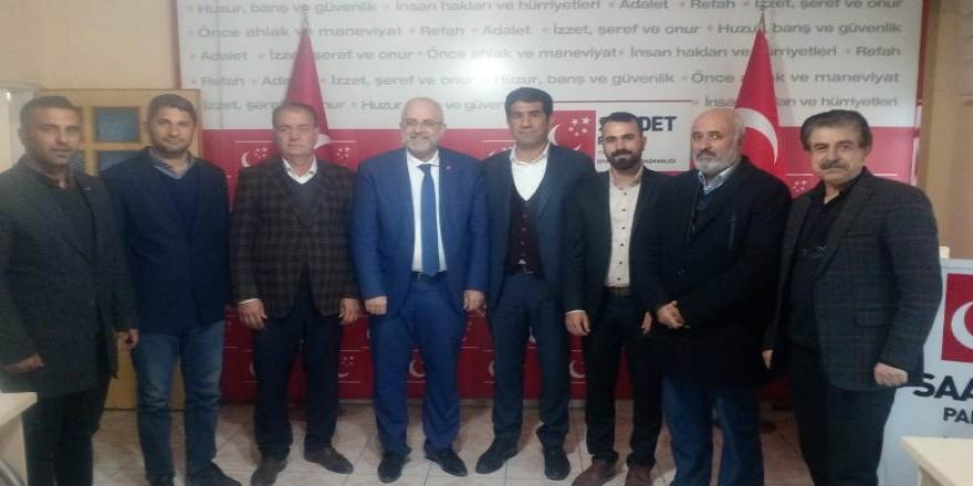 Çermik AK Parti'den istifalar