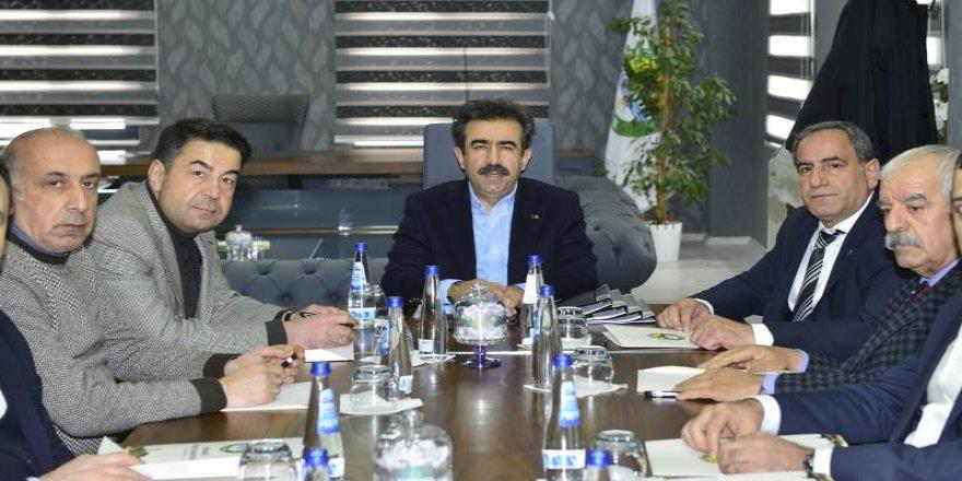 Vali Güzeloğlu, OSB parsel dağıtım toplantısına başkanlık etti