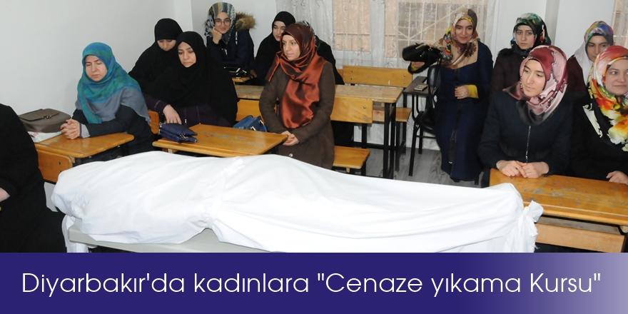 """Diyarbakır'da kadınlara """"Cenaze yıkama Kursu"""""""