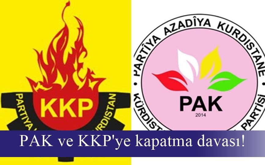 PAK ve KKP'ye kapatma davası!