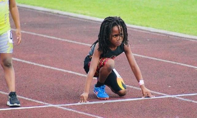 100 metreyi 13.48 saniyede koşan 7 yaşındaki 'Yeni Usain Bolt'