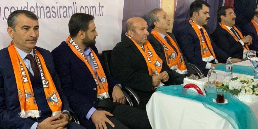 Bakan Kurum, seçim bürosu açılışına katıldı