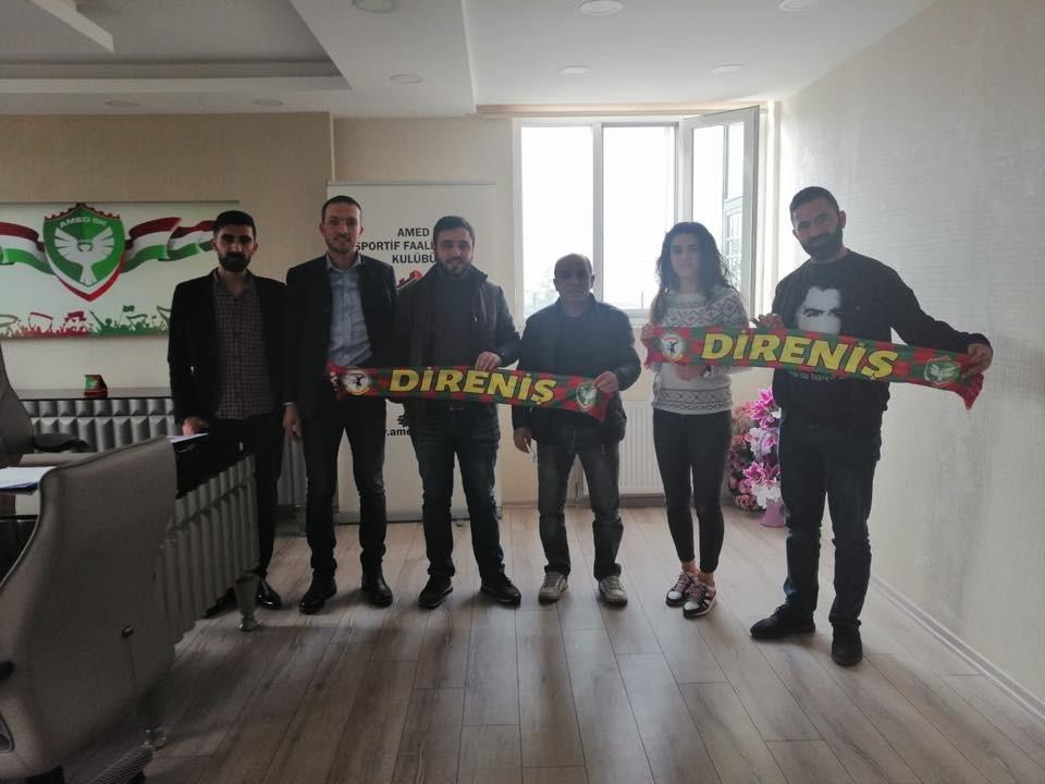Almanya'dan Amedspor kadın takımına 100 bin liralık destek