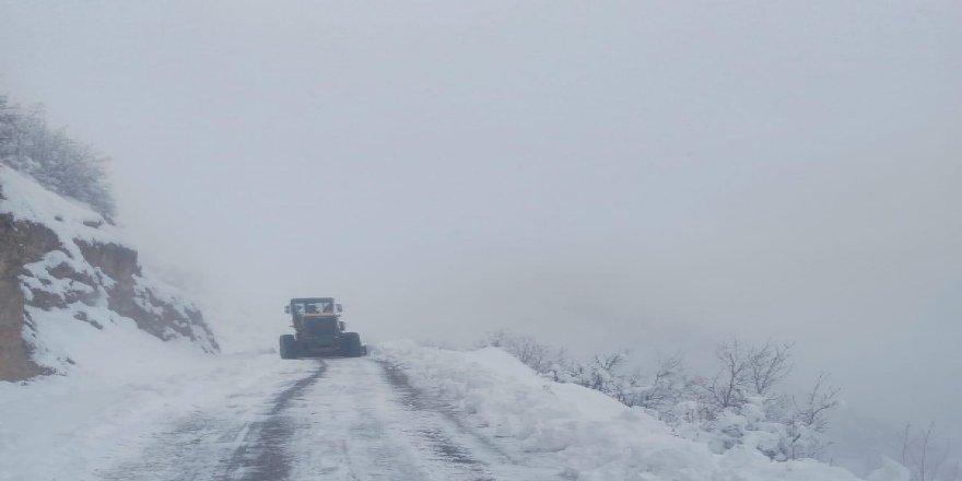 Siirt'te 23 köy yolu ulaşıma kapandı