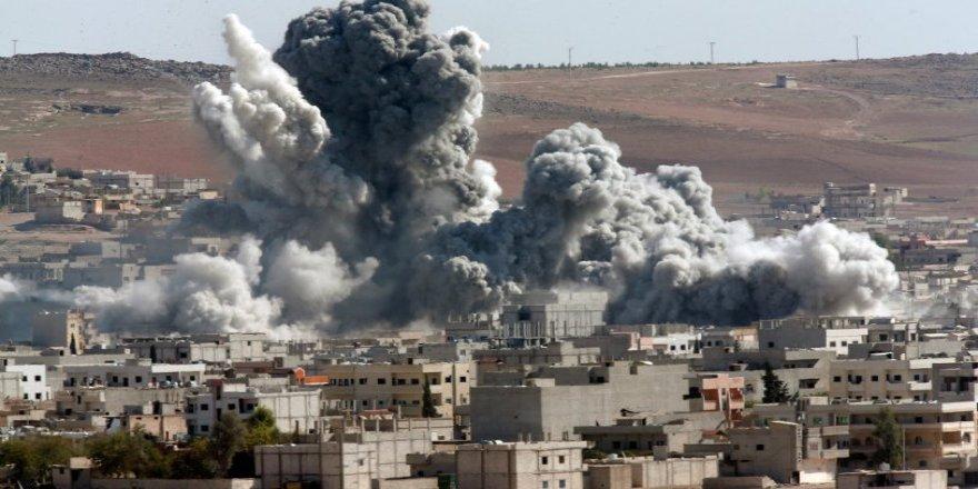 Koalisyon güçlerinin hava saldırılarında 4 yılda 12 bin sivil öldü