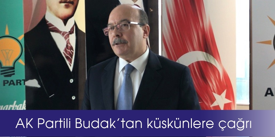 VİDEO-AK Partili Budak'tan küskünlere çağrı