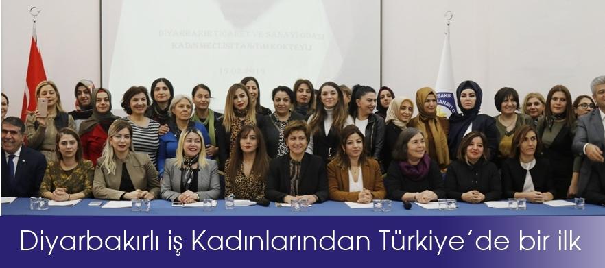 Diyarbakırlı iş Kadınlarından Türkiye'de bir ilk