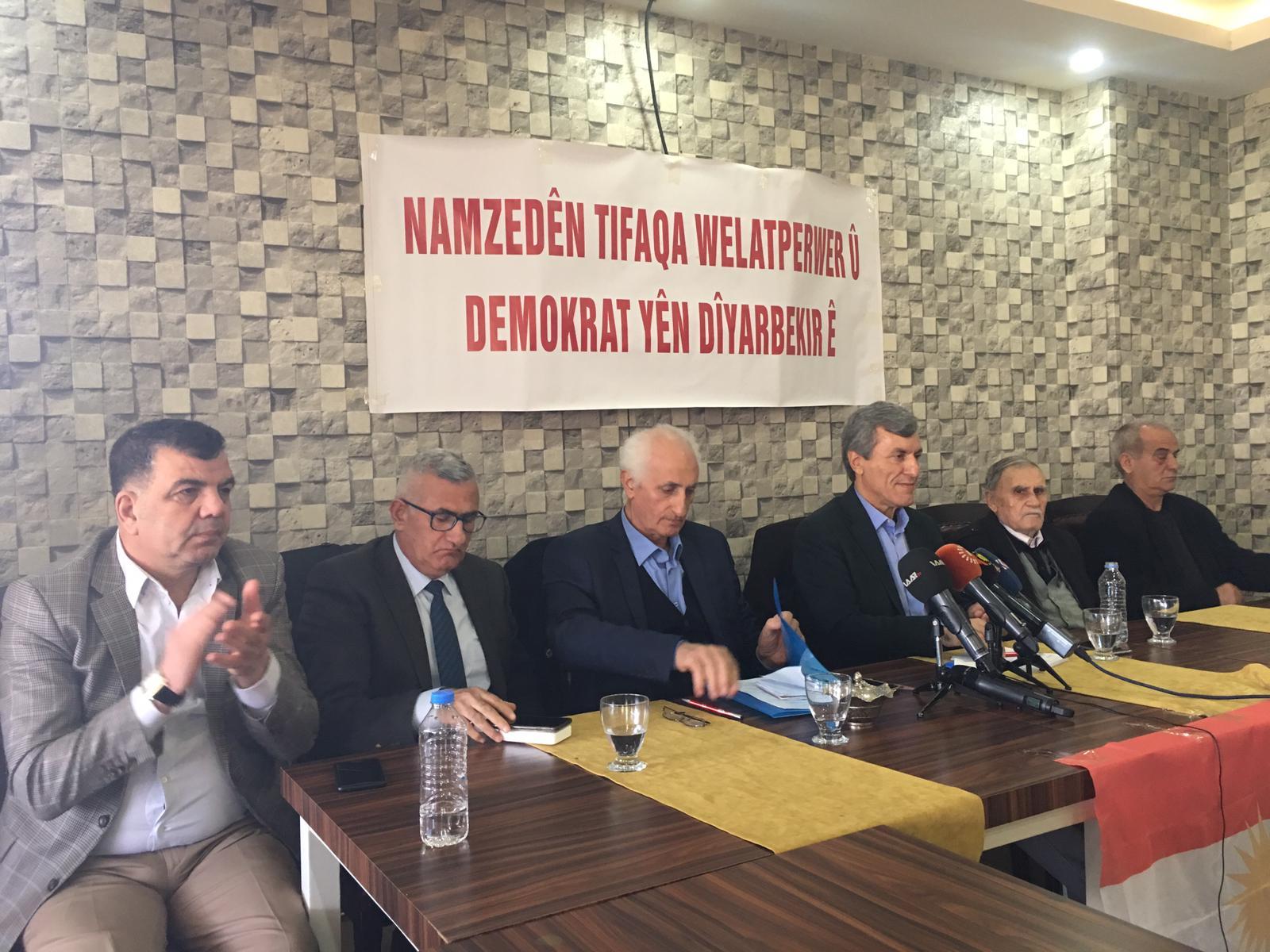 VİDEO- Yurtsever Demokrat İttifak, Diyarbakır adaylarını tanıttı
