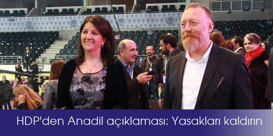 HDP'den Anadil açıklaması: Yasakları kaldırın