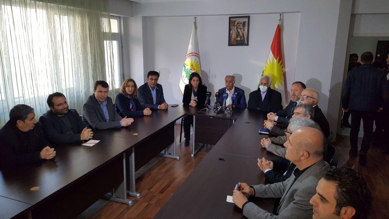 HDP, Kürt partileri ile protokol imzaladı