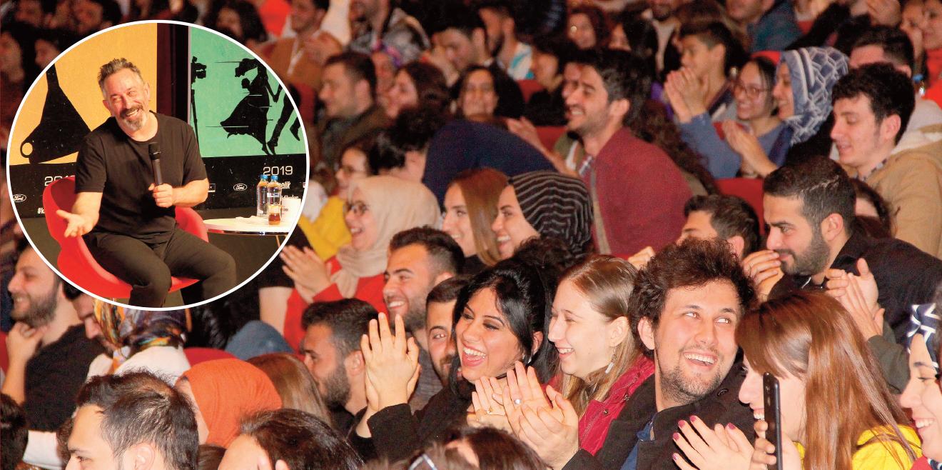 Cem Yılmaz Diyarbakırlıları güldürdü