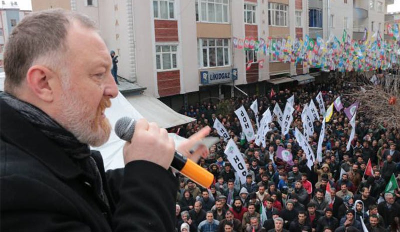 HDP'den 'Defolun gidin' diyen Erdoğan'a Doğubeyazıt'tan yanıt
