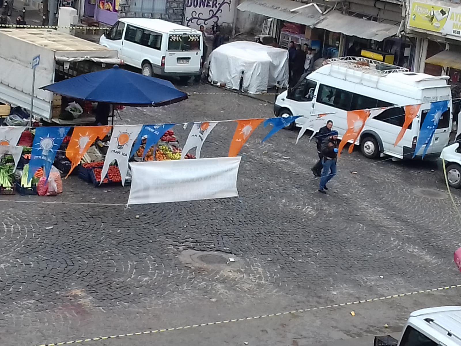 Diyarbakır'da silahlı kavga: 3 ölü,4 yaralı