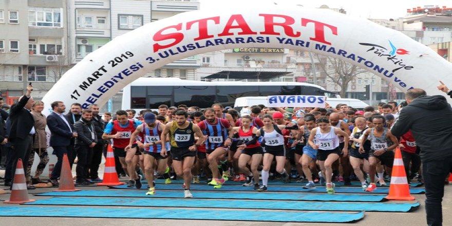 Batman'da 3. Uluslararası Yarı Maratonu düzenlendi