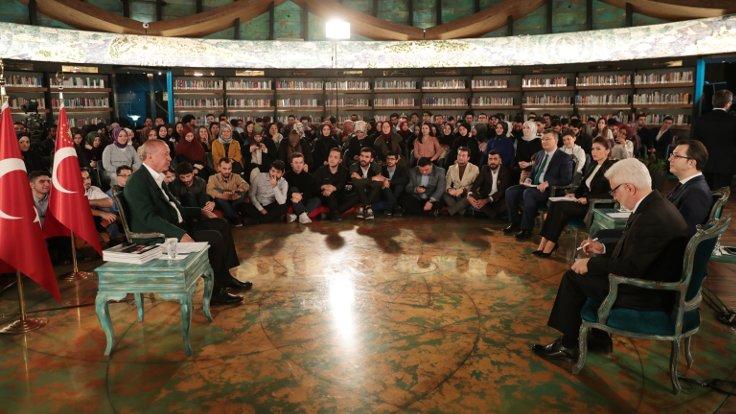 Erdoğan: HDP denilen dinsiz, imansız, ateist olan takım camiyi kurşuna tuttu