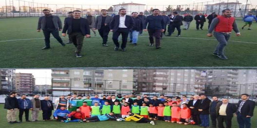 Ak Partili Nasıranlı'dan efsane Diyarbakırspor'a ziyaret