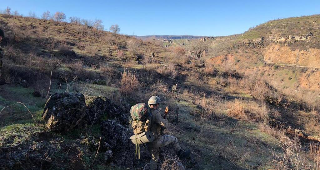 VİDEO-Silvan, Kulp ve Hazro kırsalında operasyon