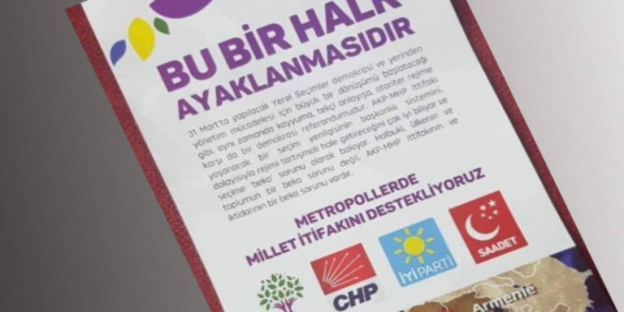 HDP: 'Bu bir halk ayaklanmasıdır' bildirileri provokasyon amaçlıdır
