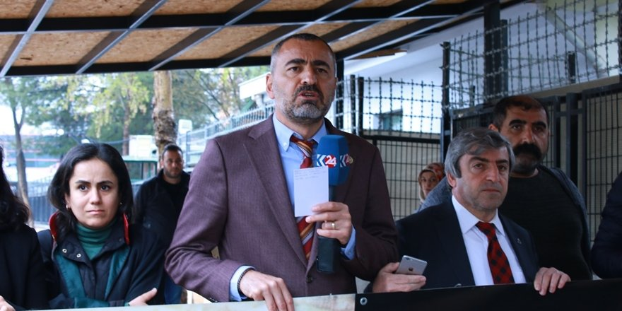 Baro Başkanı Aydın: Gidişat tehlikeli!