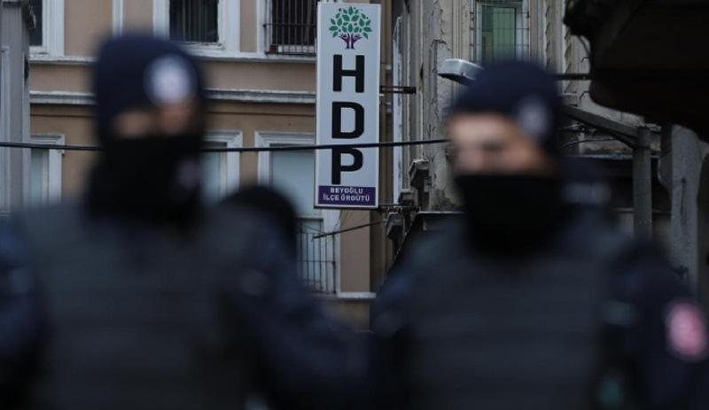 İstanbul'da HDP'ye yönelik eş zamanlı operasyon