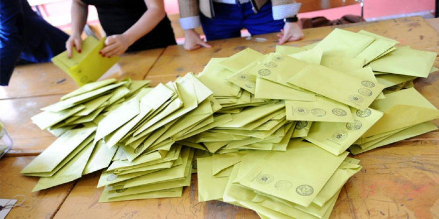 Oy verme bitti sayım sürüyor
