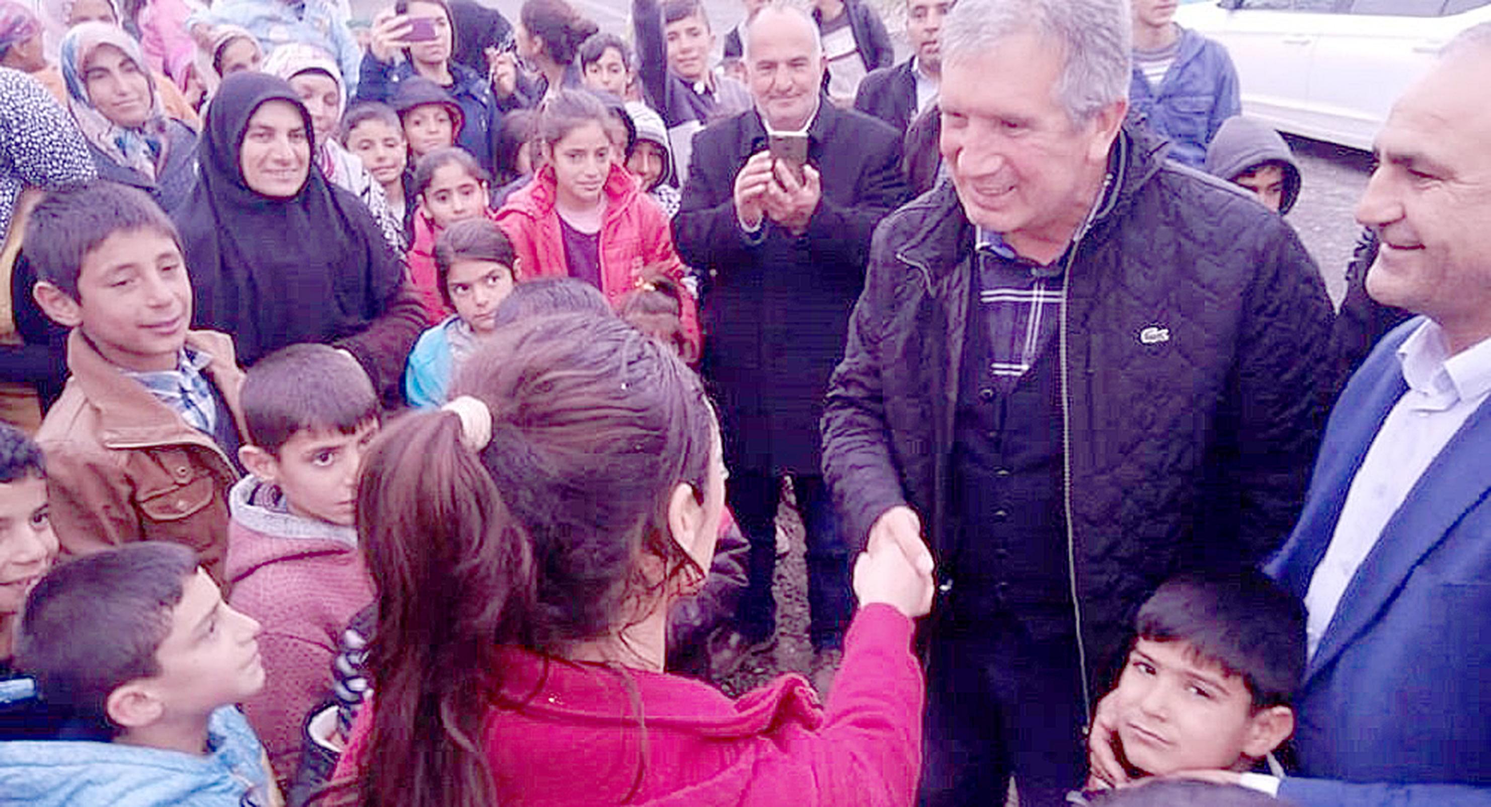 VİDEO-SP'li Akmeşe: Ak Partili başkanın yakınları saldırdı