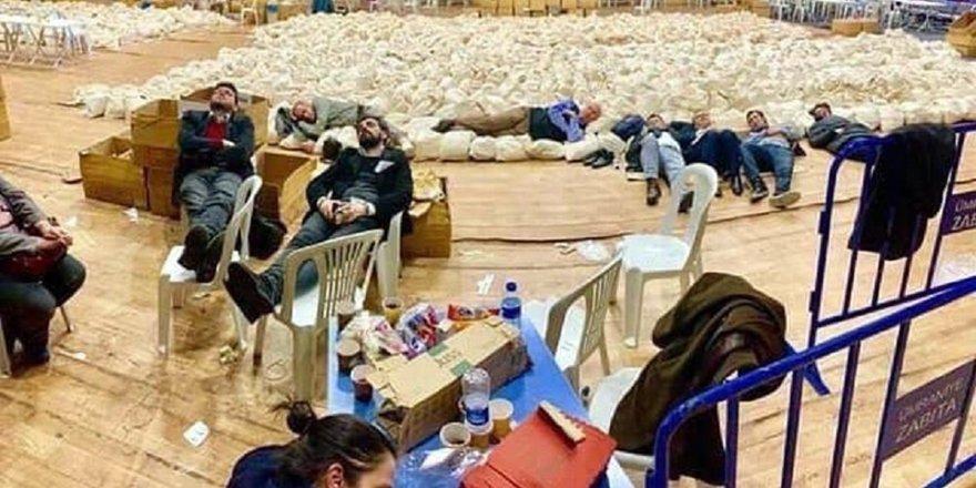 CHP'lilerden oy nöbeti