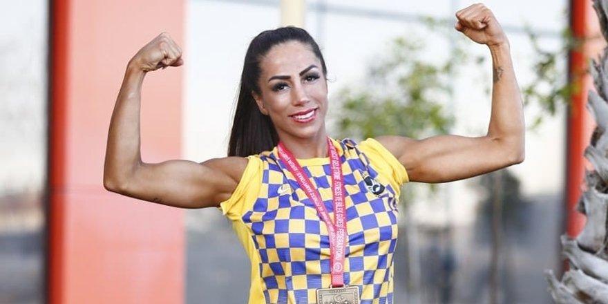 Vücut geliştirmede Türkiye şampiyonu