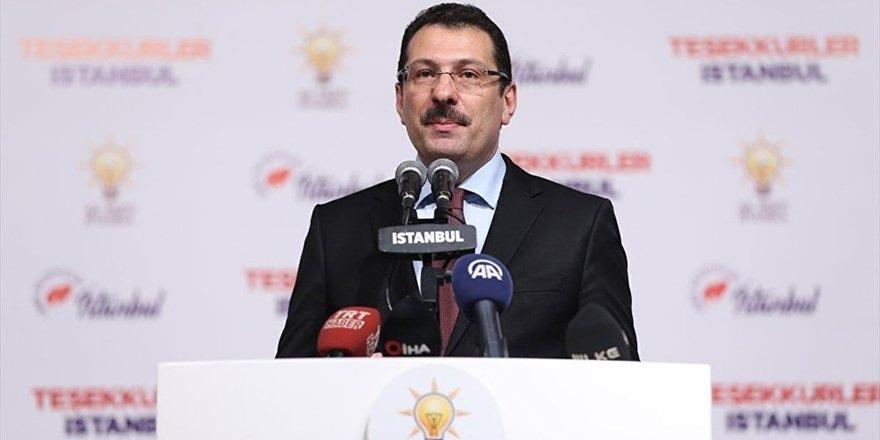 AK Partili Yavuz: Oyların sayımı için YSK'ya başvuracağız