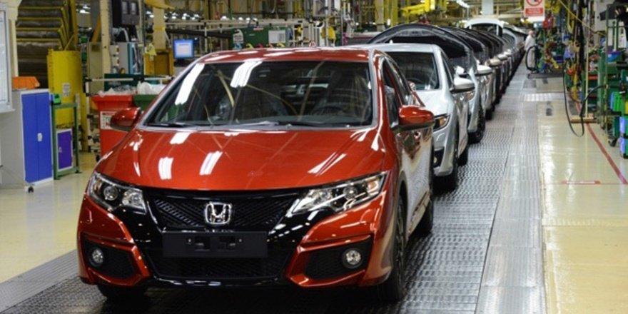 Honda üretimi durdurdu