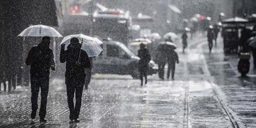 Diyarbakır'da dolu ve kuvvetli yağış uyarısı