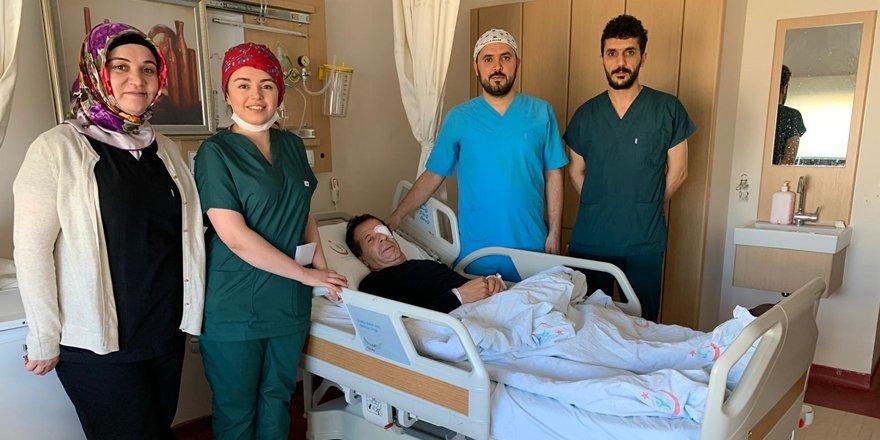 Mardin Devlet Hastanesi'nde kornea nakli