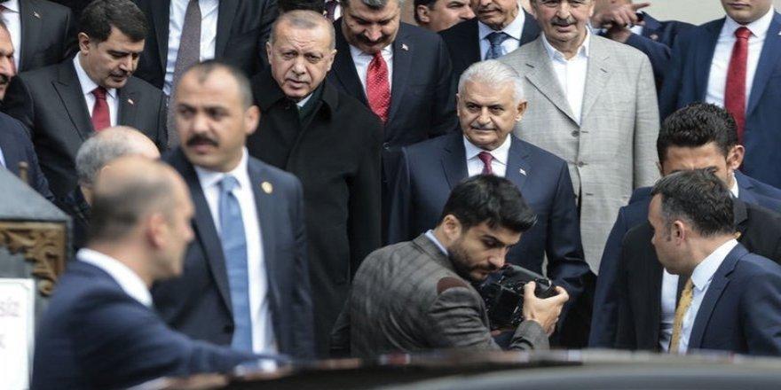 Erdoğan başkanlığında MKYK toplantısı başladı