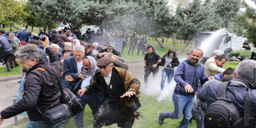HDP'nin açıklamasına polis müdahale etti