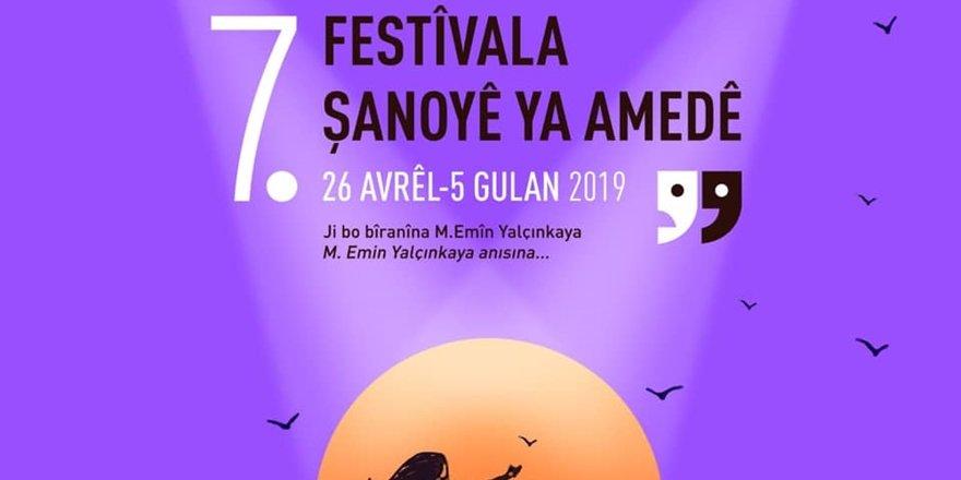 """""""Amed Tiyatro Festivali"""" 26 Nisan'da başlıyor"""
