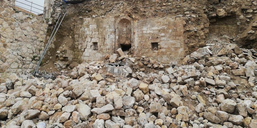 Mardin'de yıkılan duvarların ardından tarih çıktı