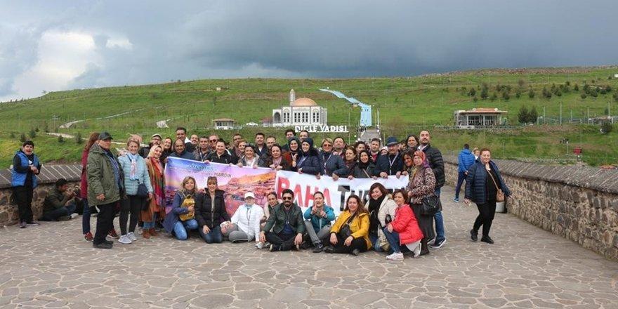 Diyarbakır'a turist akını devam ediyor