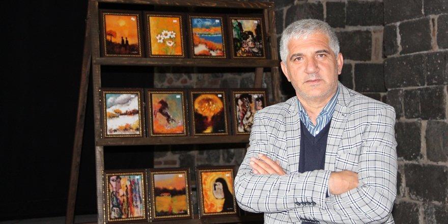 VİDEO - Diyarbakır'ın Picasso'su ilk sergisini açıyor