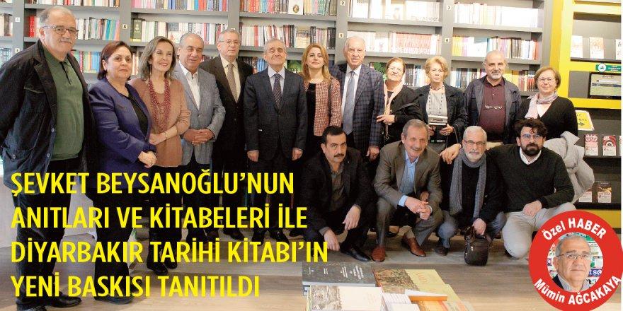 """""""Anıtları ve Kitabeleri ile Diyarbakır Tarihi"""" kitabının yeni baskısı tanıtıldı"""