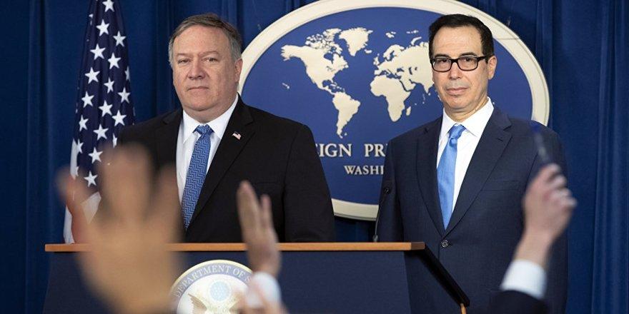 """""""Türkiye dahil 8 ülkenin ABD'nin İran yaptırımlarından muafiyeti sona eriyor"""""""