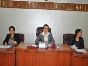 Siirt Belediye Meclisi'ni kadınlar yönetti