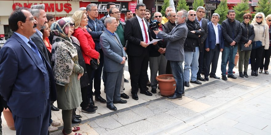 Diyarbakır CHP il başkanlığı saldırıyı kınadı