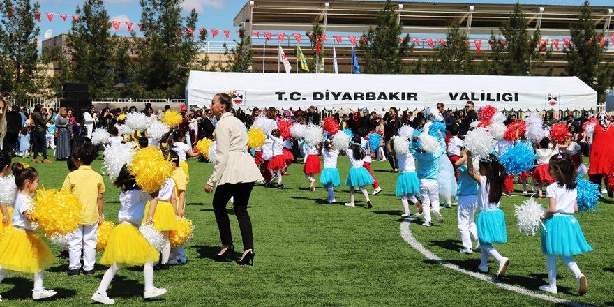 Diyarbakır'da 23 Nisan coşkusu