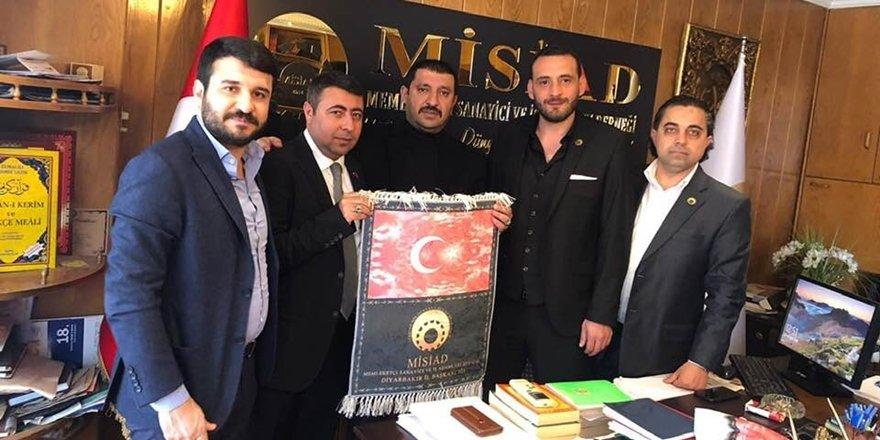 MİSİAD Diyarbakır il başkanına mazbatasını verdi