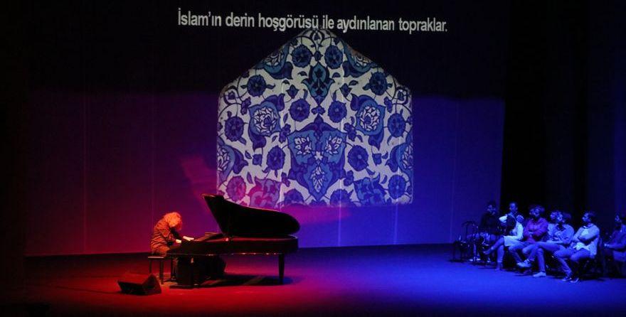 Piyanist Tuluyhan Uğurlu'nun Diyarbakır konseri