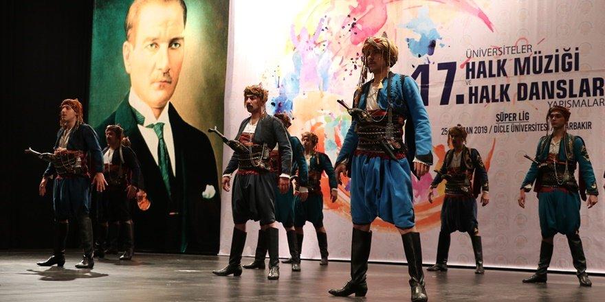 """""""Üniversiteler 17. Halk Dansları Yarışmaları"""""""