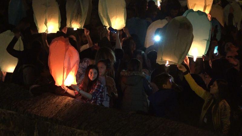 Diyarbakır'da dilek feneri etkinliği